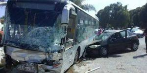 Ferveur de la fête de Tabaski : quatre morts et plusieurs blessées dans la collision entre une voiture et un bus à Kindia