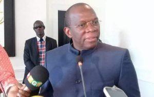 Consultations Nationales: Kassory remet le rapport au président Alpha Condé