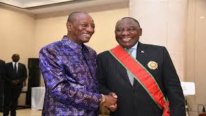 Visite du Président Sud-Africain en Guinée: Cyril Ramaphosa intéressé par le secteur minier guinéen