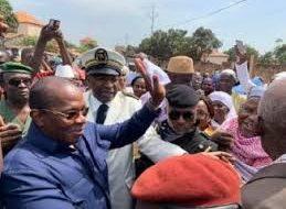 Kouroussa: le Premier ministre Dr Kassory Fofana déjà arrivé Baro