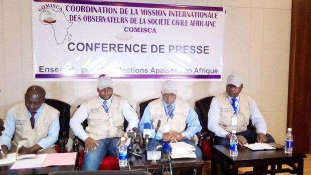 Double scrutin du 22 mars: '' la Guinée a su démontrer aux yeux du monde entier que, les africains peuvent eux- mêmes organiser leurs élections'' (COMISCA)