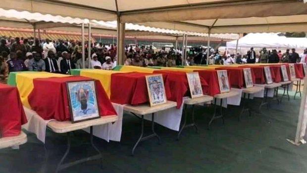 Obsèques des joueurs décédés: le gouvernement s'engage d'accompagner les familles des victimes…..