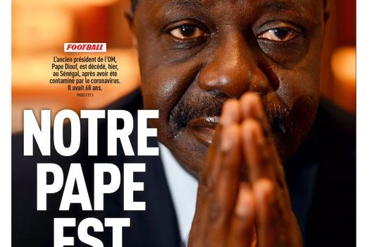 Le monde du sport  en deuil : Pape Diouf est mort par suite de covid19