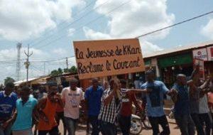 Kankan:les populations dans la rue pour réclamer le courant électrique