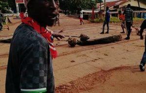 Tensions à Kolabounyi : les manifestants invitent «les autorités à prendre les choses en mains afin d'éviter le pire »