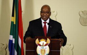 Jacob Zuma obtient le réexamen de sa condamnation…