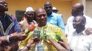Port Autonome de Conakry : l'honorable Cheick Touré quitte à la tête du secrétaire général de la délégation syndicale