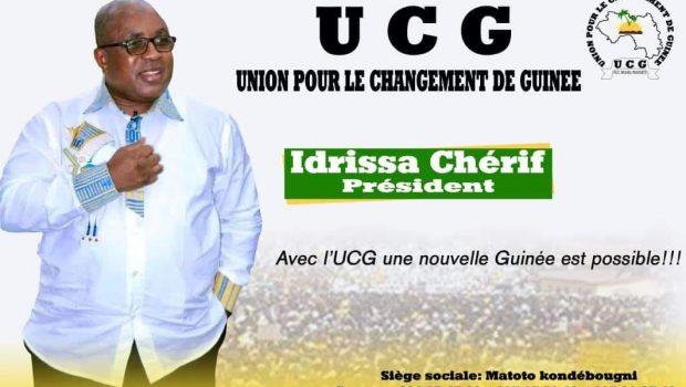 UCG : Idrissa Chérif prend les destinées du parti