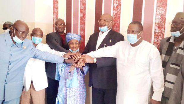 CES: Mme Rabiatou Serah Diallo apporte son soutien au Chef de file de l'opposition guinéenne…