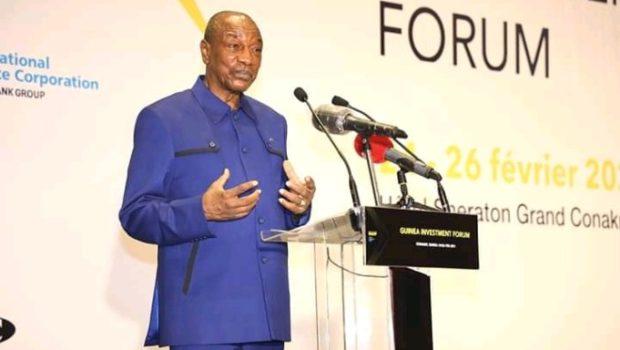 Forum d'Investissement en Guinée: encore une fois, Alpha Condé s'attaque à la presse…