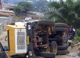 Accident de route Boffa-Boké: le bilan fait étant de 5 morts!