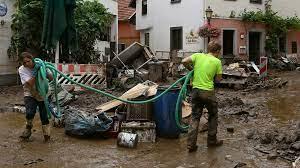 Près de 130 morts et de nombreux disparus dans des crues dévastatrices en Allemagne et en Belgique