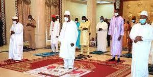 """Tabaski : """"Qu'Allah dans sa bonté infinie accepte nos prières, protège la Guinée et les Guinéens!"""" (Alpha Condé)"""
