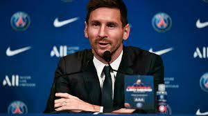 """Lionel Messi : """"Je veux continuer à gagner des titres et aider le PSG à accomplir ses objectifs"""""""
