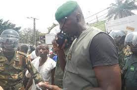"""Colonel Balla Samoura à Djoma FM: """"Nous sommes venus  pour venir mettre  Djoma Fm en confiance…"""""""