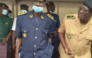 Armée de l'Air: Général Aboubacar Monchon remplacé par le Colonel  Yacouba Touré