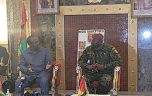 """Umaro Embalo au Colonel  Doumbouya: """"  ATT a fait une transition, il est parti. Et il est revenu parce qu'il avait fait un bon travail """""""