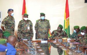 Armée Guinéenne : le nouveau Chef d'Etat-major général  des armées installé…