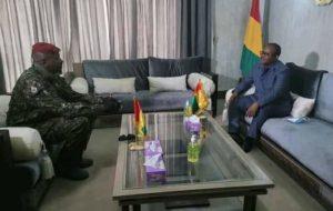 Visite de travail: Omaru Embalo déjà à Conakry